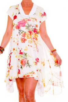 Tea Party Dress | Floral Jersey Dress