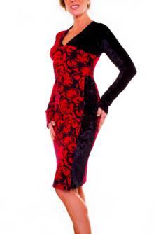 Rosetta - Stretch Jersey Dress