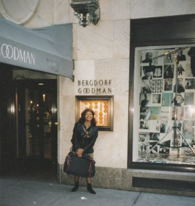Coral at Bergdorf Goodman New York